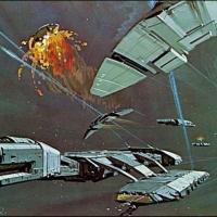 Ralph McQuarrie Battlestar Galactica Concept Design