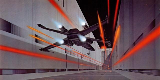 X-Wing Trench Run