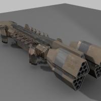 Concept Design: Space Cargo Ship