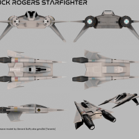 """Buck Rogers In the 25th Century """"The Starfighter'"""