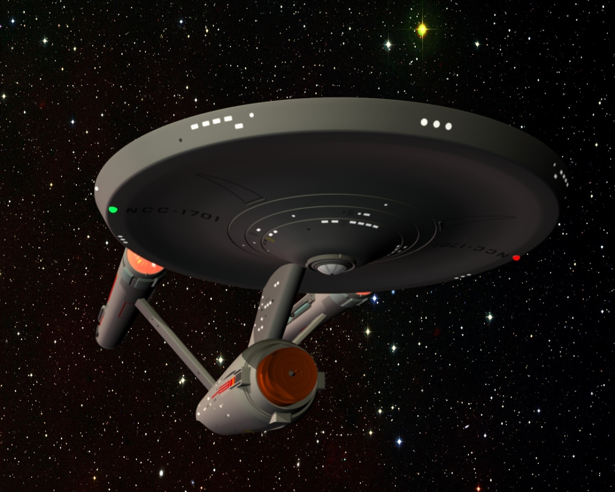 USS Enterprise Lightwave 3d Tutorial: Second Edit / Printable Copies