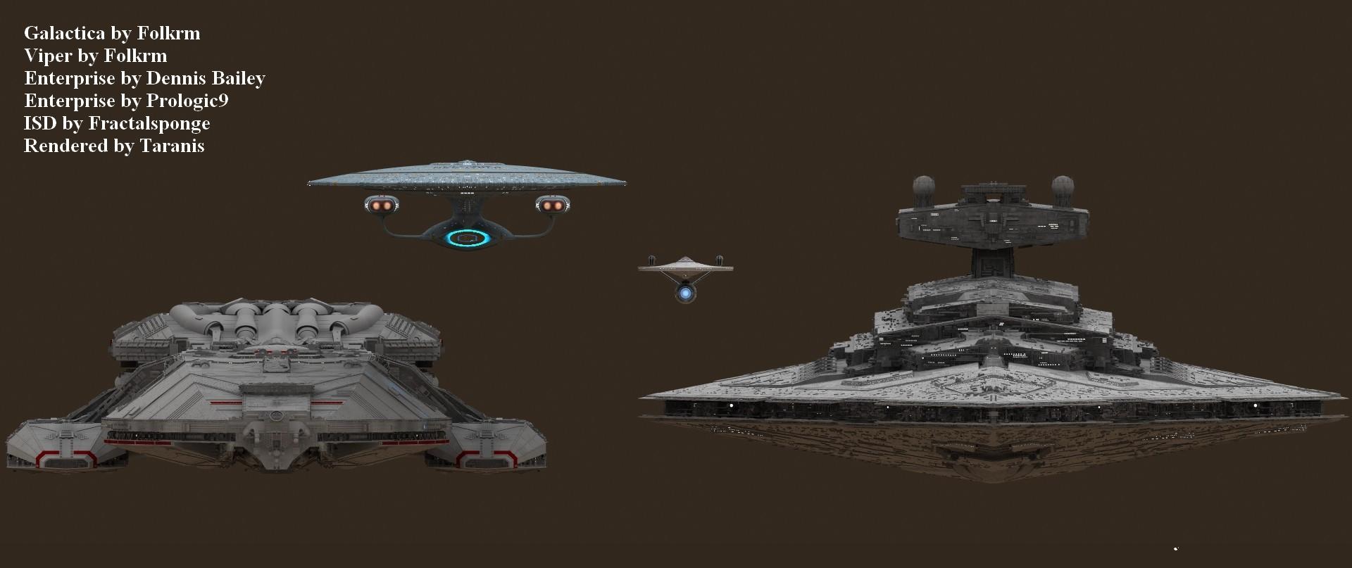 star destroyer enterprise size comparison - photo #43
