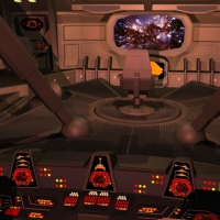 Klingon Battle Cruiser – the bridge set in lightwave