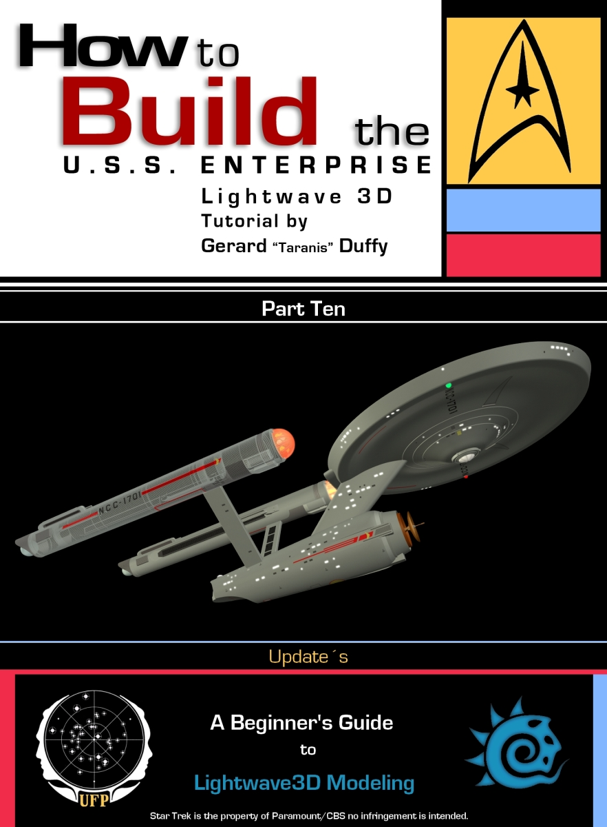 "Star Trek: New Enterprise Tutorial ""Covers"""