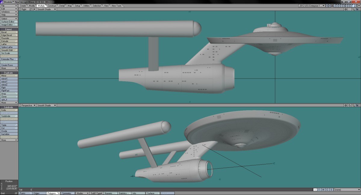 My Re-imagined USS Enterprise Part 3