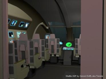 The modelled interior
