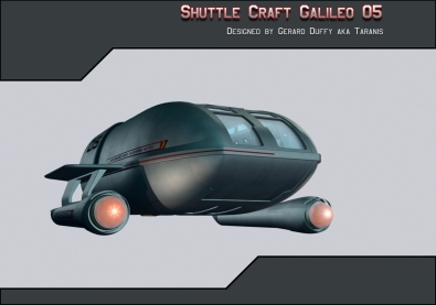 Shuttle Craft I designed inspired by a design by Madkofish.