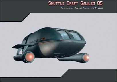 Shuttle Craft I designed inspired by a design by Madkofish.