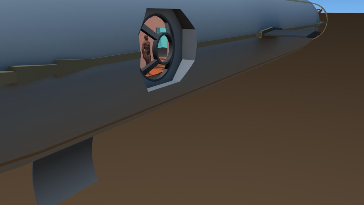 Concept Design: Jules Verne's Nautilus 1