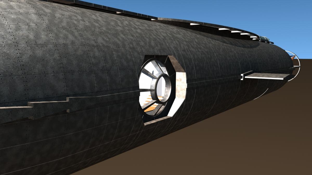 Concept Design: Jules Verne's Nautilus 4