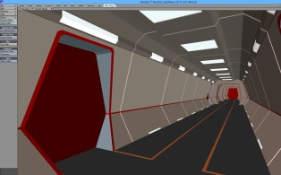 Corridor Set 4