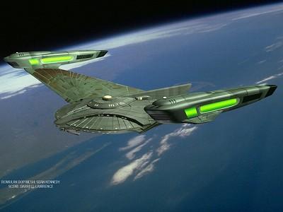 treybor atolm design of a Romulan Warship