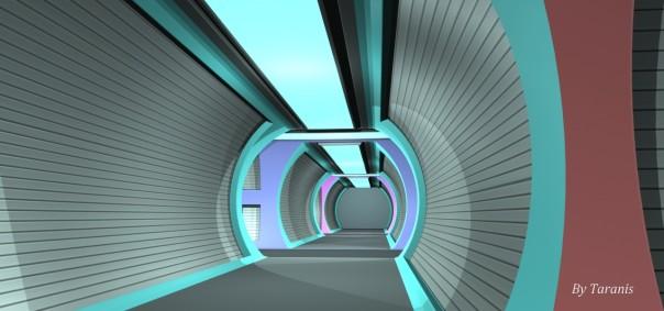 Romulan Intersection corridor