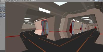 Set Corridor 001