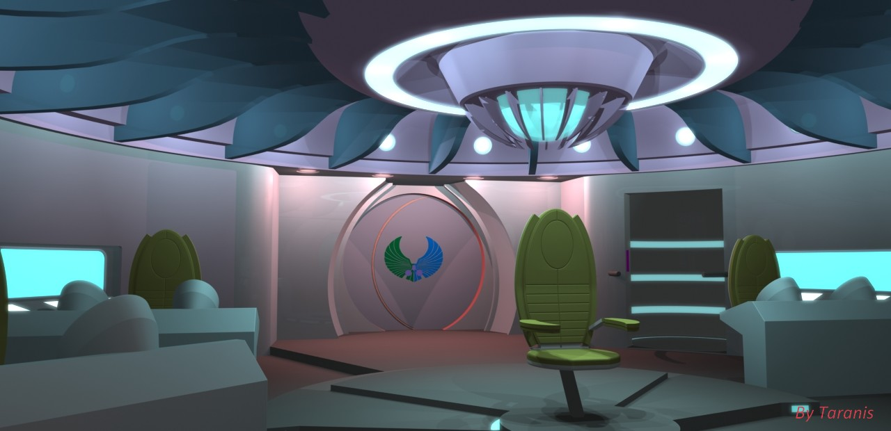 Romulan designs gmd3d designs for Wohnung star trek design