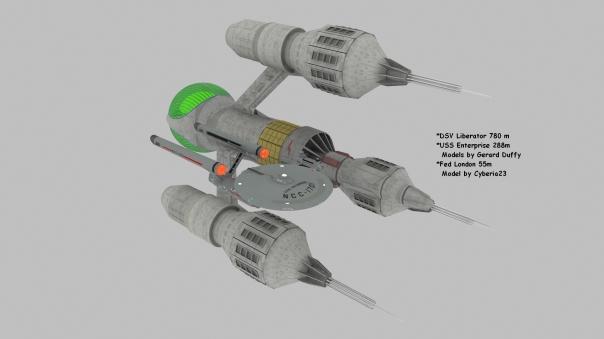 Liberator 780 m  London 55m Enterprise 288m pro1