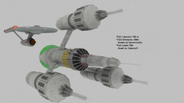 Liberator 780 m  London 55m Enterprise 288m pro5