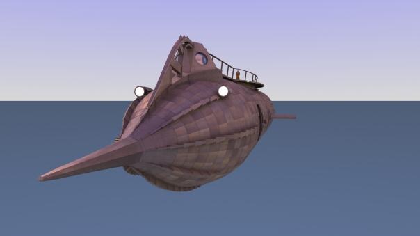 Nautilus Design 2 forward view