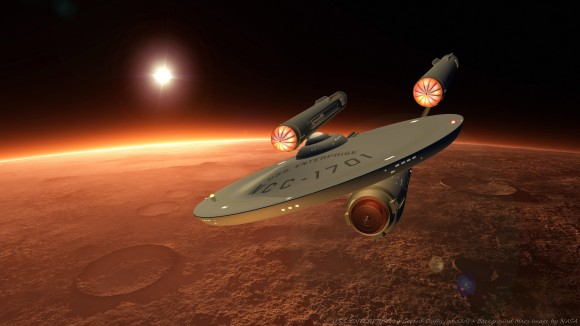 enterprise in orbit 5