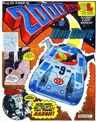 2000AD DAN DARE EAGLE