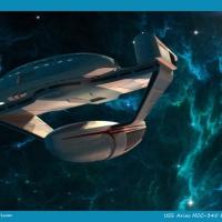 """Star Trek USS Aries """"Oberth Class"""""""