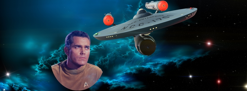 featuring Jeffrey Hunter as Captain Christopher Pike 815a
