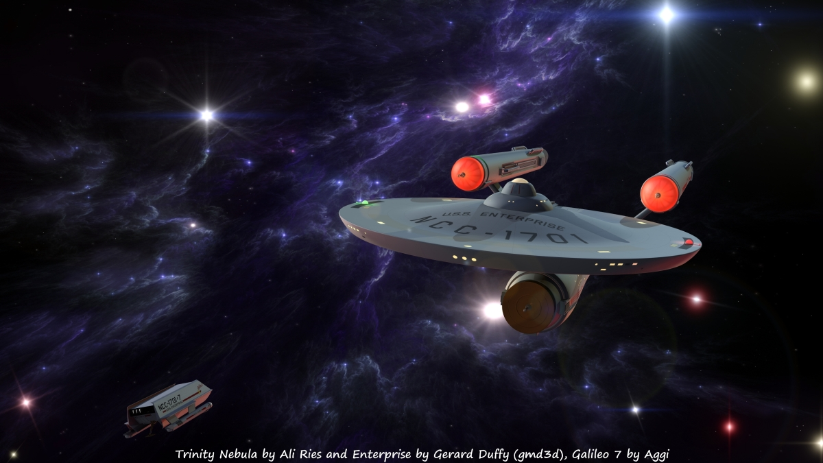 Star Trek: Mixed Renders