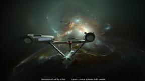 Enterprise Antartica Nebula by Ali Ries Casperium (1)