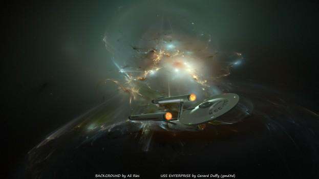 Enterprise Antartica Nebula by Ali Ries Casperium (3)