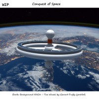 """The Wheel """"Conquest of Space"""""""