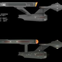 Star Trek USS Enterprise Refit Phase II